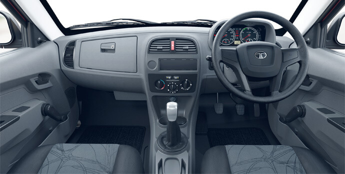 Tata xenon Single Cab Dashboard Large